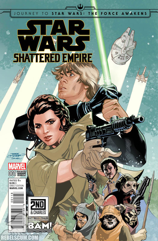Shattered Empire 1 (Terry Dodson Books-A-Million/2nd & Charles variant)
