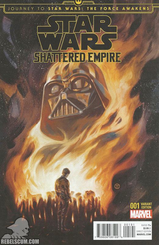 Shattered Empire 1 (Julian Totino Tedesco Disposable Heroes Comics variant)