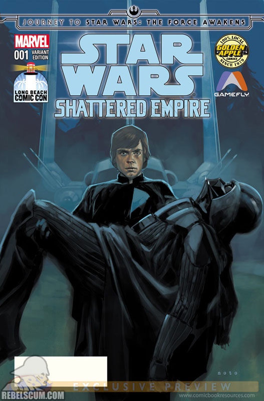 Shattered Empire 1 (Phil Noto Long Beach Comic Con variant)