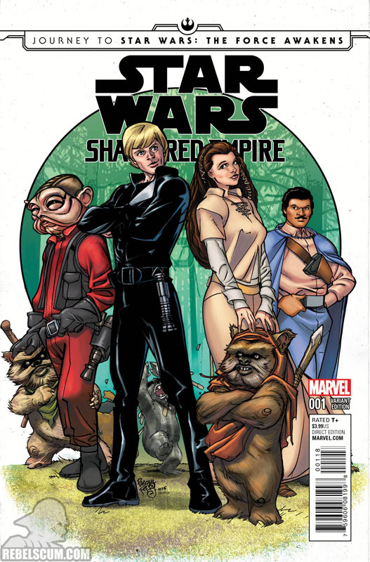 Shattered Empire 1 (Pasqual Ferry Retailer Summit variant)
