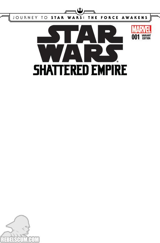 Shattered Empire 1 (Blank variant)