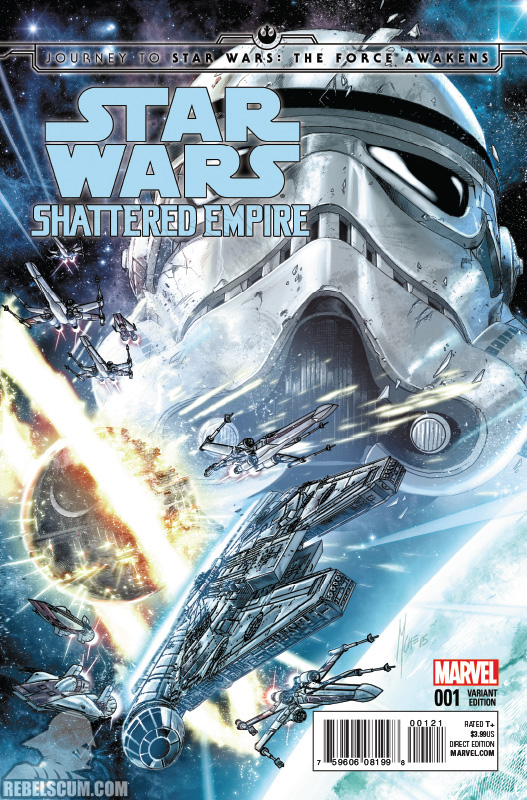 Shattered Empire 1 (Marco Checchetto variant)