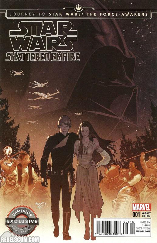 Shattered Empire 1 (Paul Renaud GameStop variant)