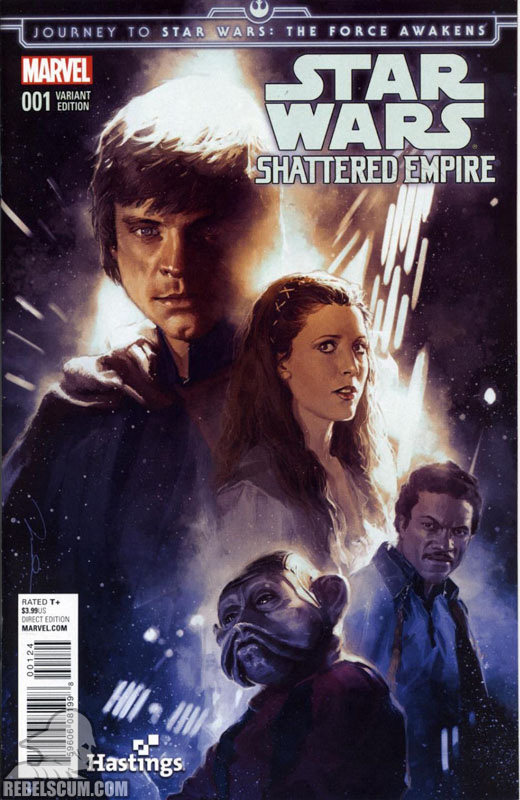 Shattered Empire 1 (Gerald Parel Hastings variant)