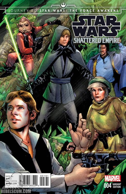 Shattered Empire 4 (Sara Pichelli variant)