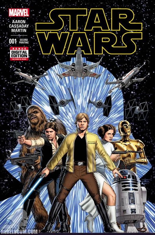 Star Wars 1 (2nd printing - February 2015)