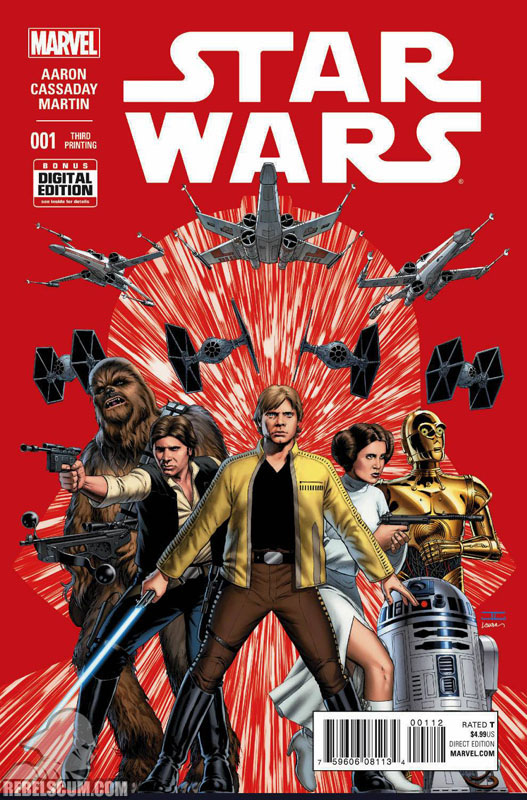 Star Wars 1 (3rd printing - February 2015)
