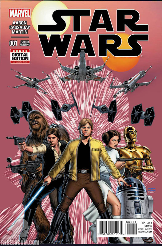 Star Wars 1 (4th printing - April 2015)