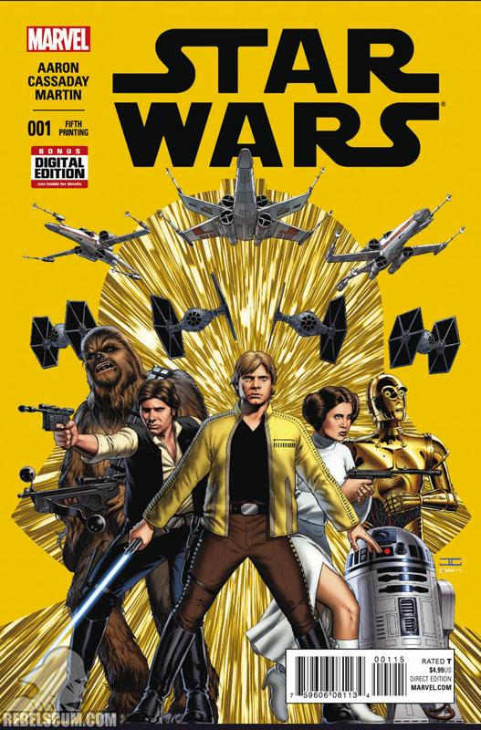 Star Wars 1 (5th printing - May 2015)