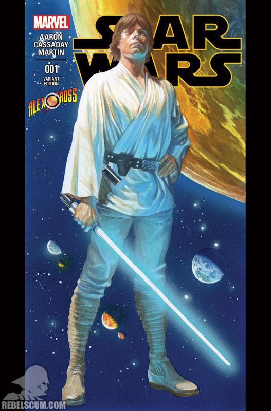 Star Wars 1 (Alex Ross AlexRoss.com variant)