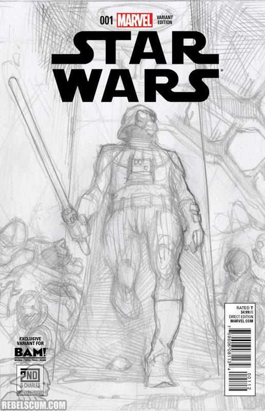 Star Wars 1 (Simone Bianchi Books A Million sketch variant)