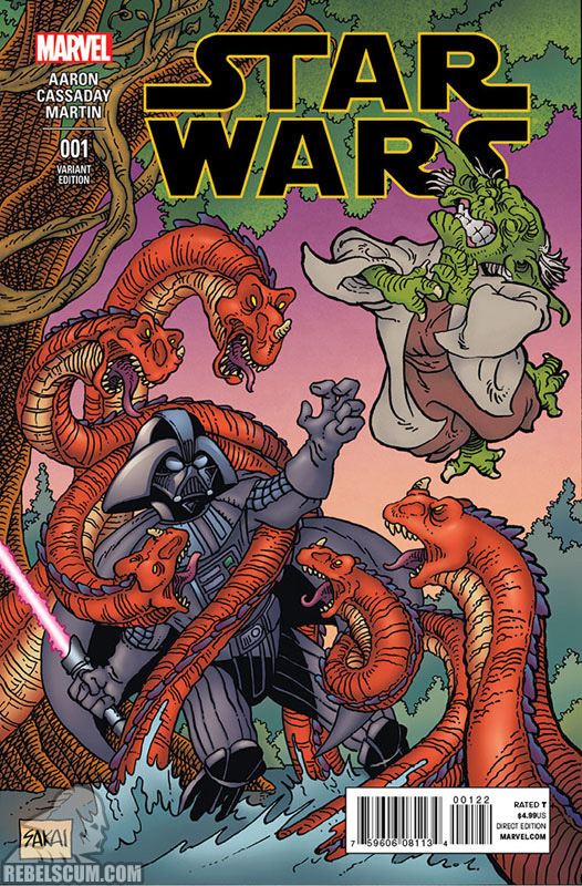 Star Wars 1 (Stan Sakai Beach Ball Comics variant)