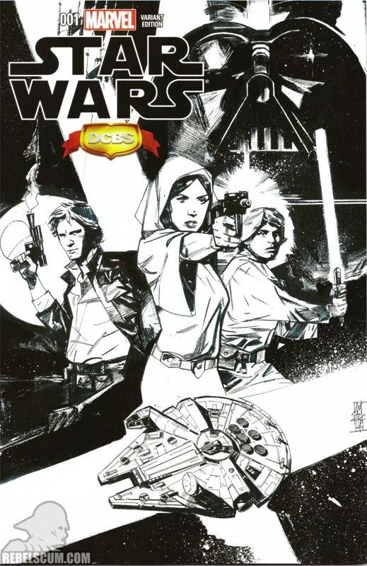 Star Wars 1 (Alex Maleev DCBS sketch variant)