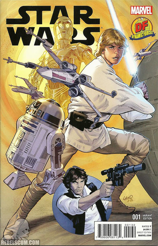 Star Wars 1 (Greg Land Dynamic Forces variant)