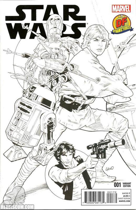 Star Wars 1 (Greg Land Dynamic Forces sketch variant)
