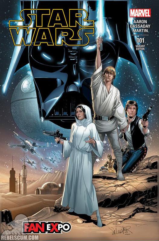 Star Wars 1 (Salvador Larocca Dallas Comic Con variant)
