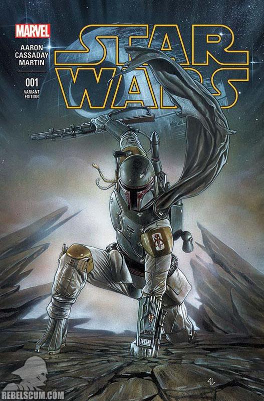 Star Wars 1 (Adi Granov Forbidden Planet variant)