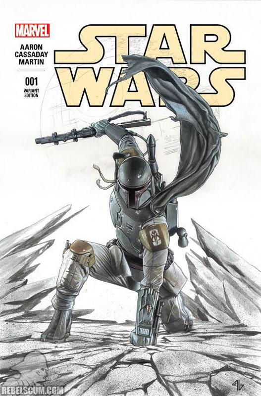 Star Wars 1 (Adi Granov Forbidden Planet Hoth variant)