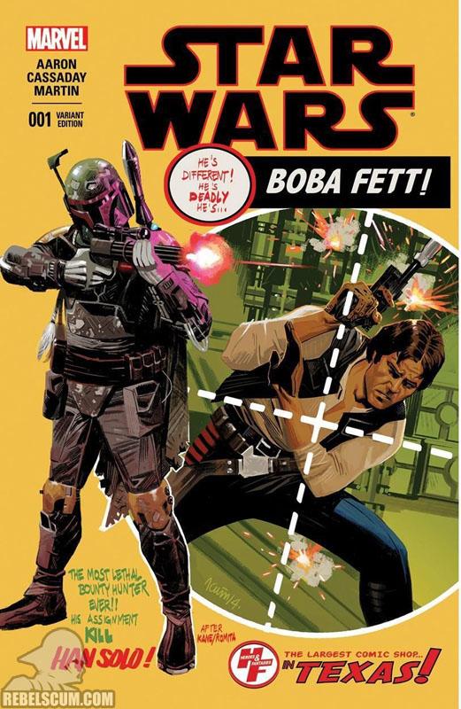 Star Wars 1 (Daniel Acuña Heroes & Fantasies variant)