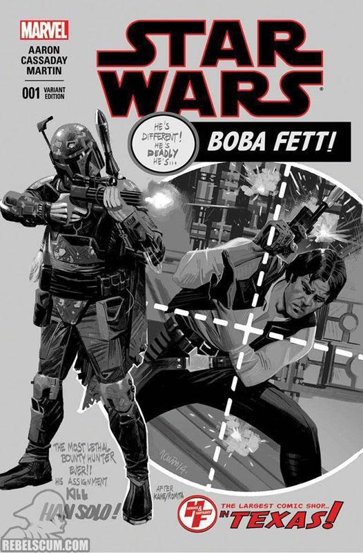 Star Wars 1 (Daniel Acuña Heroes & Fantasies black/white variant)