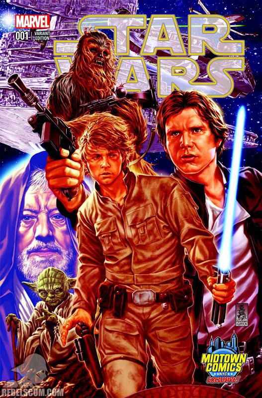 Star Wars 1 (Mark Brooks Midtown Comics variant)
