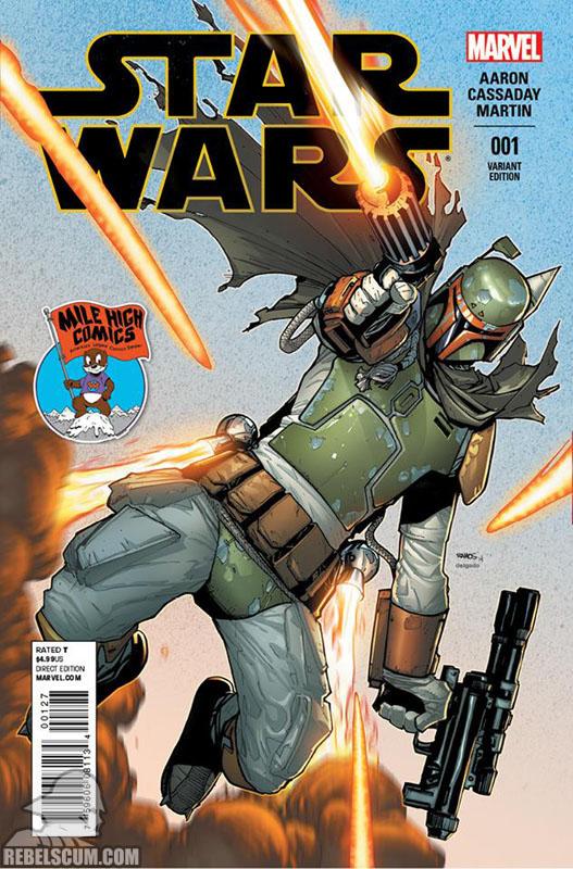 Star Wars 1 (Humberto Ramos Mile High Comics variant)