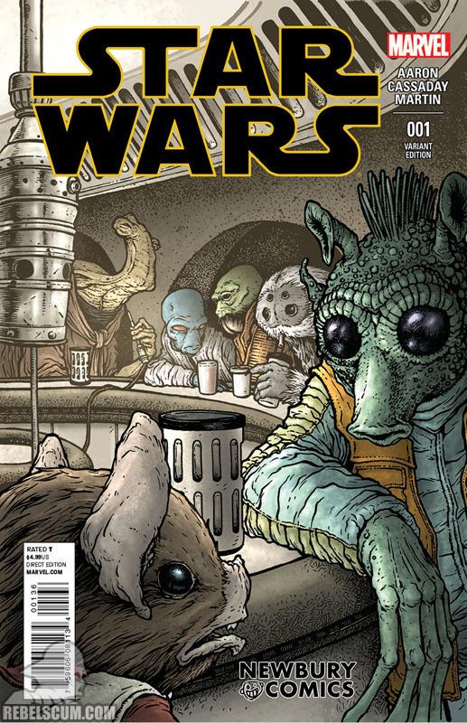 Star Wars 1 (David Petersen Newbury Comics variant)
