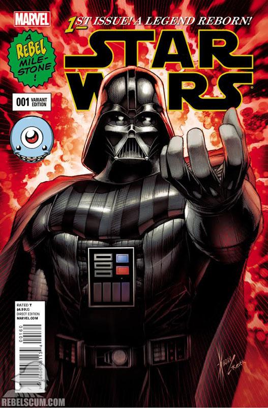 Star Wars 1 (Dale Keown Third Eye Comics variant)