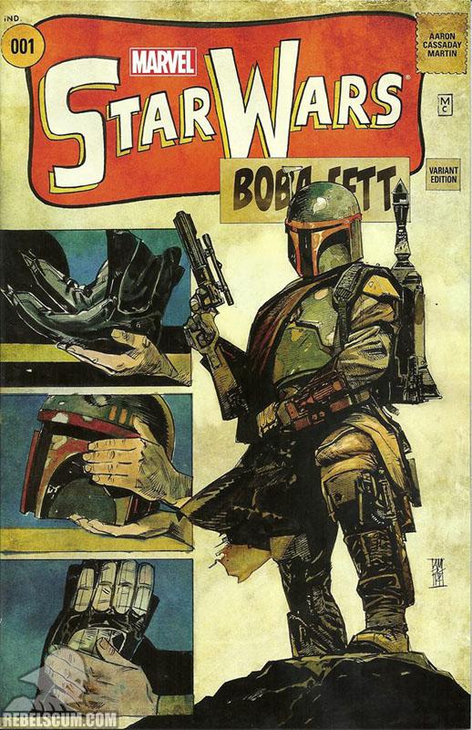 Star Wars 1 (Alex Maleev Warp 9 variant)