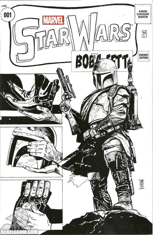 Star Wars 1 (Alex Maleev Warp 9 sketch variant)