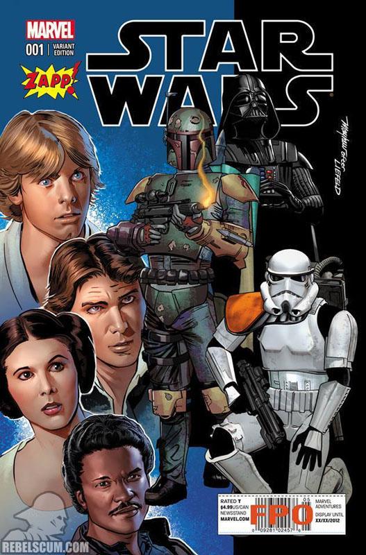 Star Wars 1 (Mike Meyhew Zapp Comics variant)