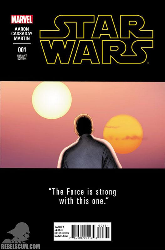 Star Wars 1 (John Cassady teaser variant)