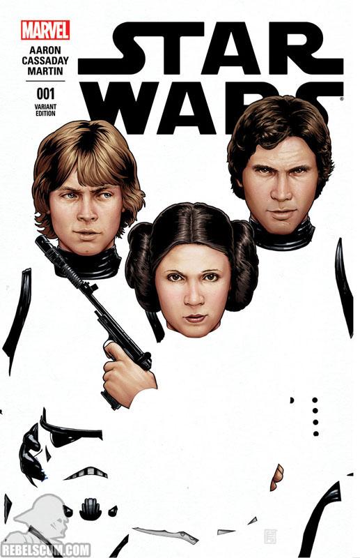 Star Wars 1 (John Tyler Christopher ComicXposure variant)