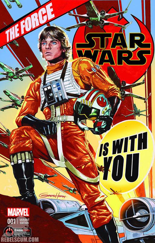 Star Wars 1 (Greg Horn Gamestop Power-Up variant)