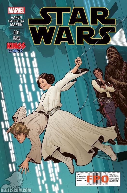 Star Wars 1 (Joe Quinones Kings Comics variant)
