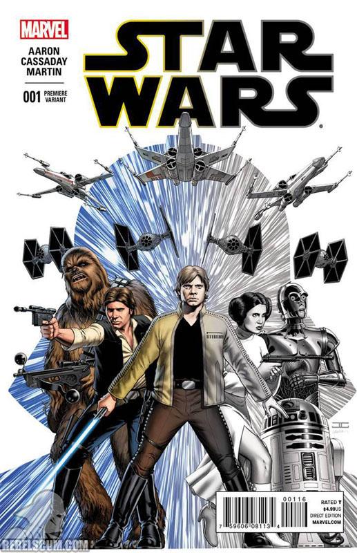 Star Wars 1 (John Cassady Comic Shop Personalized Premiere variant)