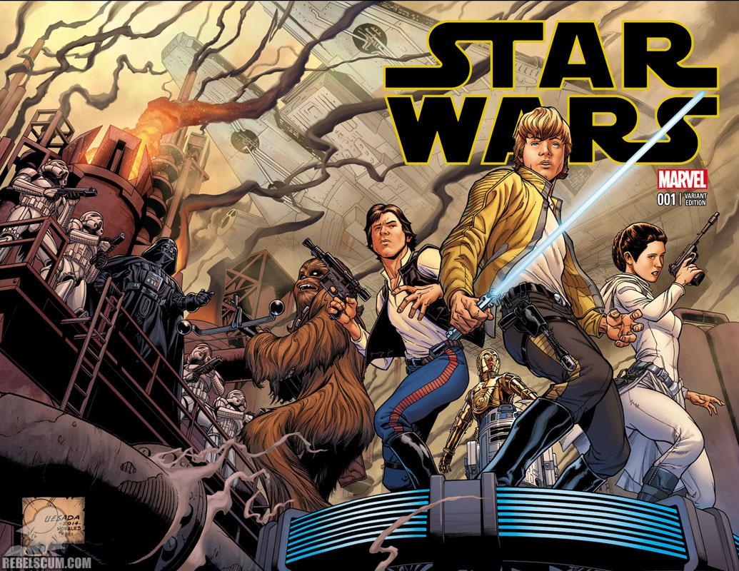 Star Wars 1 (Joe Quesada wraparound variant)