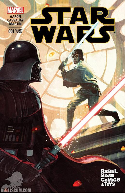 Star Wars 1 (Stephanie Hans Rebel Base Comics variant)