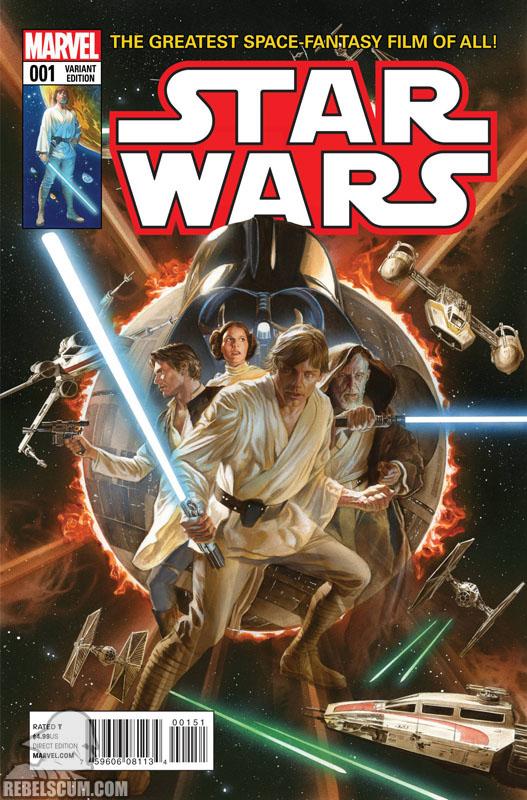 Star Wars 1 (Alex Ross variant)