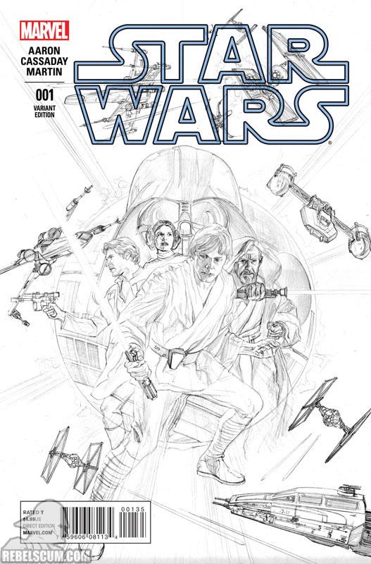 Star Wars 1 (Alex Ross sketch variant)