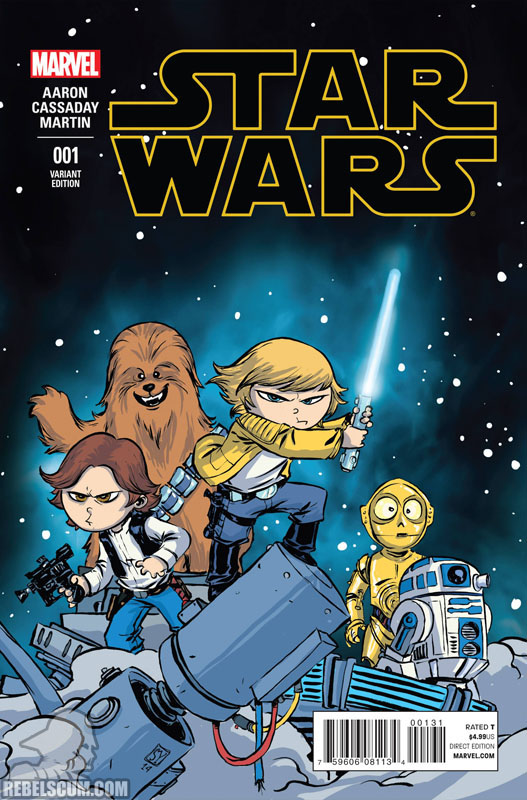 Star Wars 1 (Skottie Young variant)