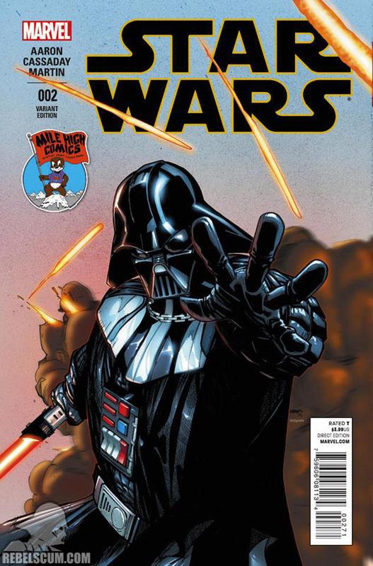 Star Wars 2 (Humberto Ramos Mile High Comics variant)