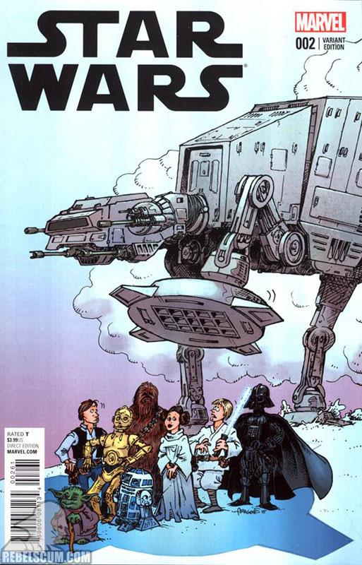 Star Wars 2 (Sergio Aragonés variant)