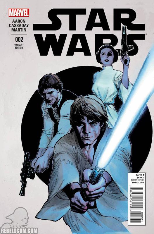 Star Wars 2 (Lenil Yu variant)
