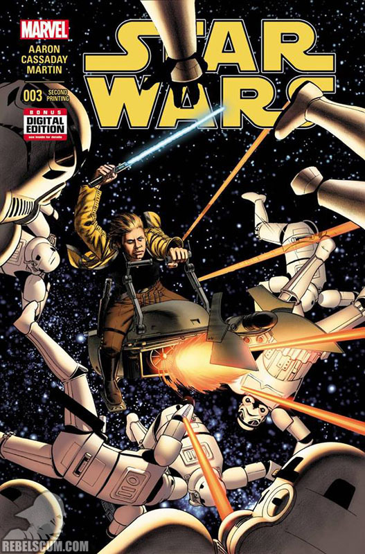 Star Wars 3 (2nd printing - May 2015)