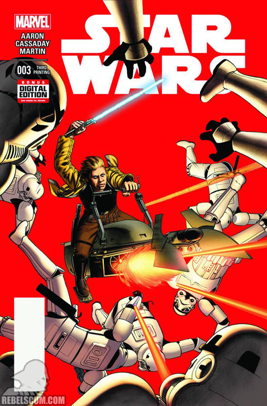 Star Wars 3 (3rd printing - July 2015)