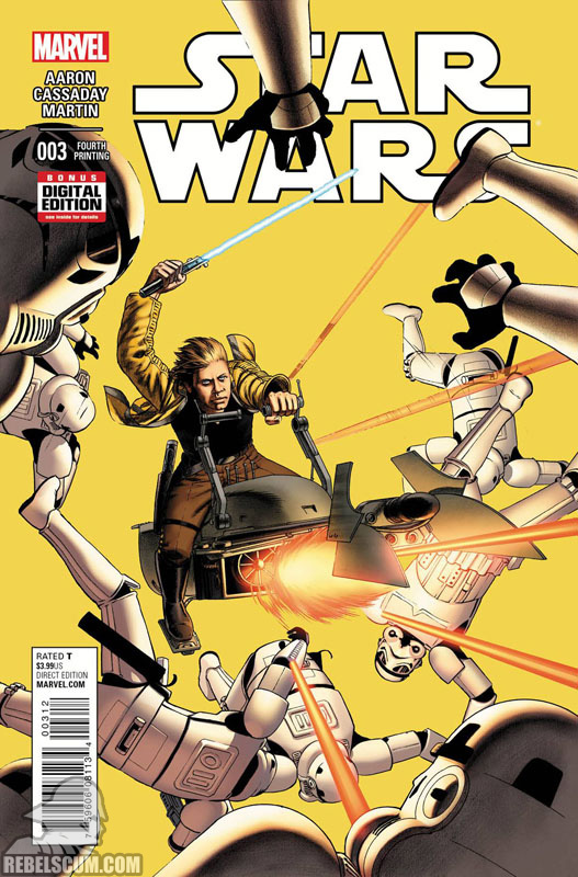 Star Wars 3 (4th printing - November 2015)