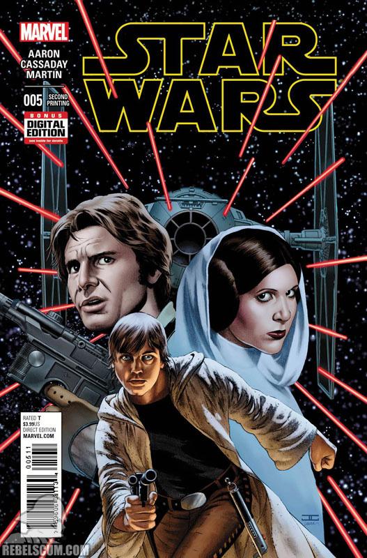 Star Wars 5 (2nd printing - November 2015)
