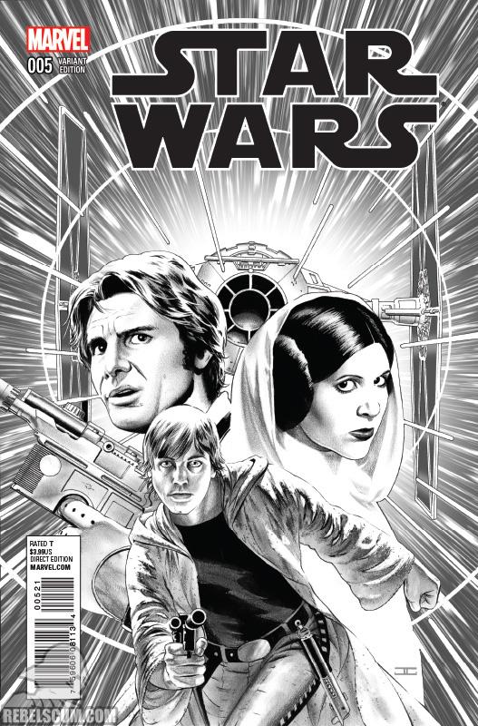 Star Wars 5 (John Cassaday sketch variant)