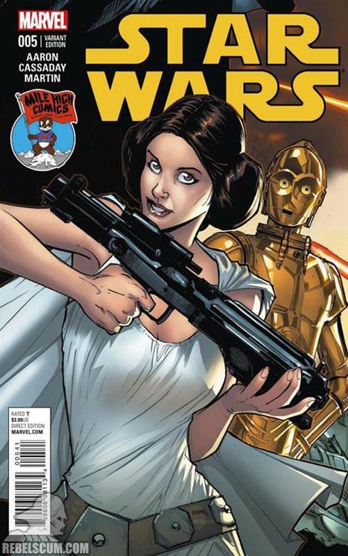 Star Wars 5 (Humberto Ramos Mile High Comics variant)